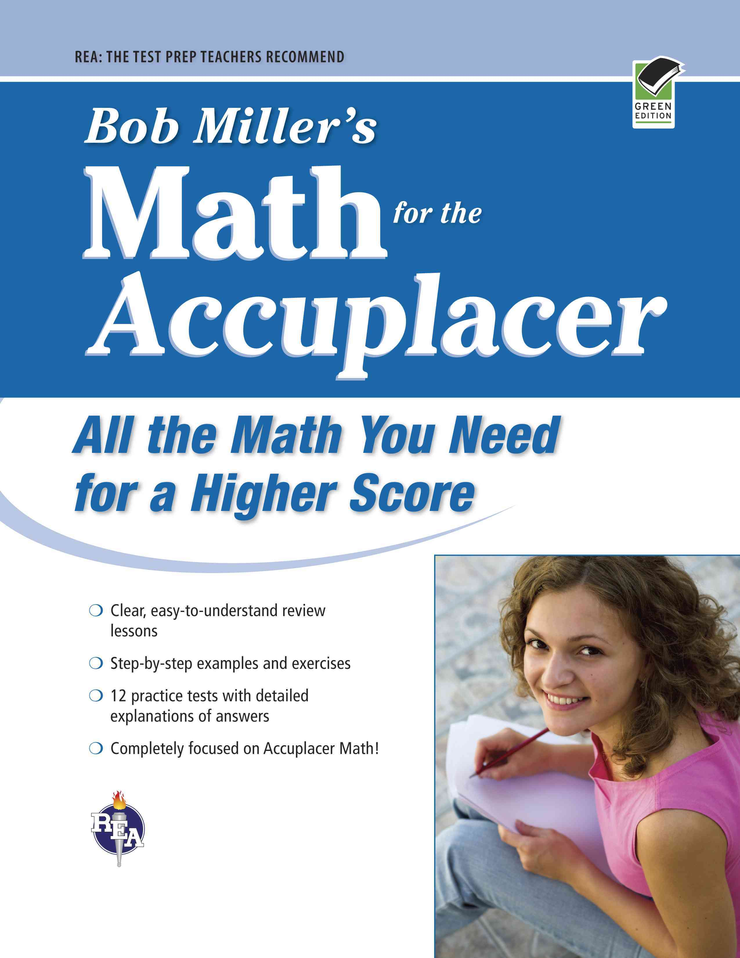 Bob Miller's Math for the Accuplacer By Miller, Bob
